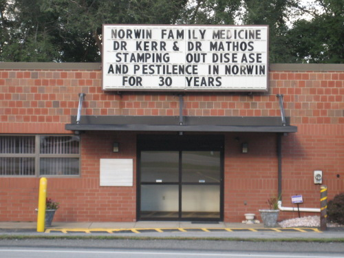 """""""Stamping out disease and pestilence in Norwin for 30 years"""""""
